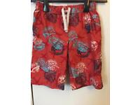 M&S Boys swimming trunks - age 6-7.