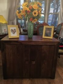 Lovely darkwood sideboard