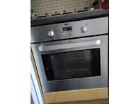 Zanuzzi Single fitted oven. Spares or Repair