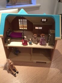 Sylvanian Family house and accessories