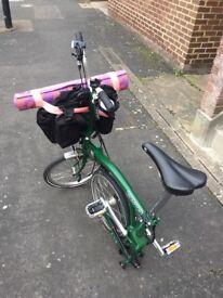 Brompton Bicycle M3L July 2016