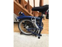 Brompton S2L folding bike in mint condition