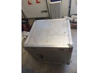 """Silver 19"""" Rack mount Flight Case"""