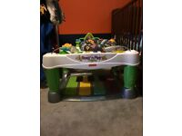 Step and play fisher price piano