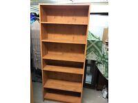 2 x Tall Bookshelves