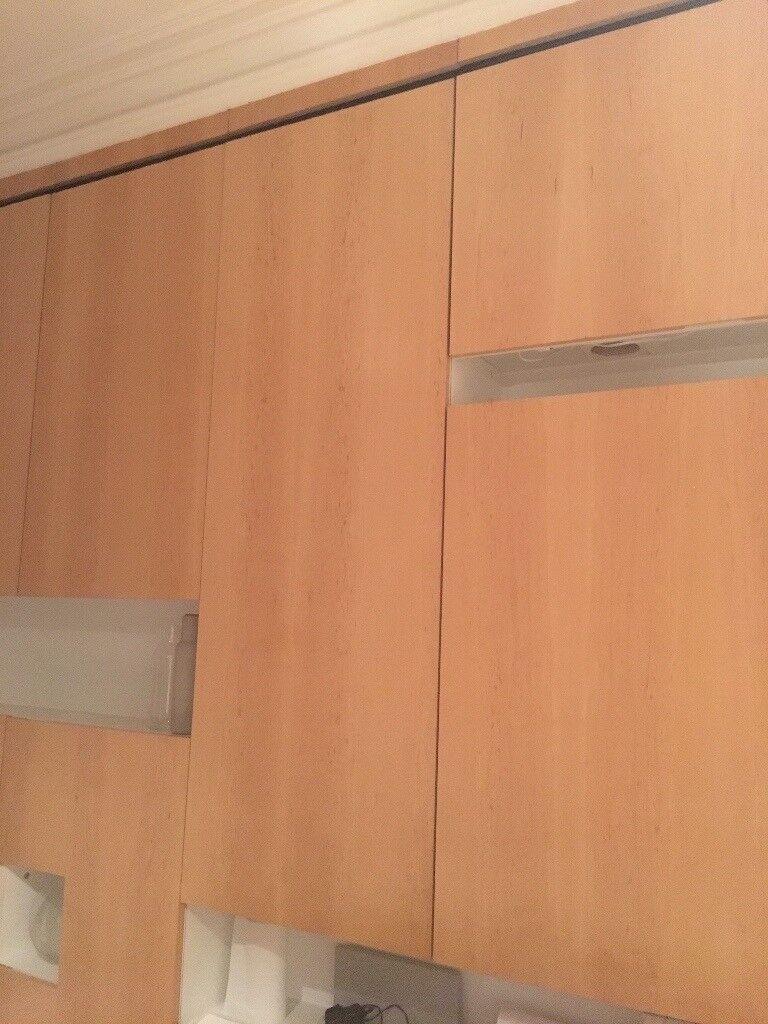 Bespoke Birch veneer kitchen cabinet doors for sale