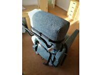 Porta Chair - Rise and Recliner chair on wheels