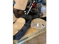 bugaboo cameleon, seat and bassinet frame