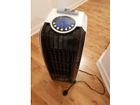 Mobile Air Cooler and Heater (Humidifier, Fan, Timer, Remote Control)