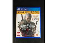 The witcher 3 game of the year edition PS4