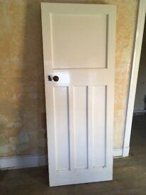8 Solid wooden doors for sale - original doors in excellent condition