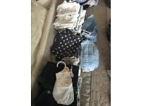 Various size clothes bundles for baby boy