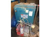 Oil boiler & burner