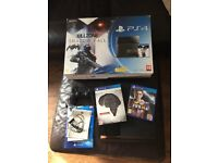 PS4 Playstation 4 with 512Gb SSD Hard Drive and 2 games