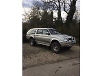 Mitsubishi l200 warrior (now comes with a years MOT)