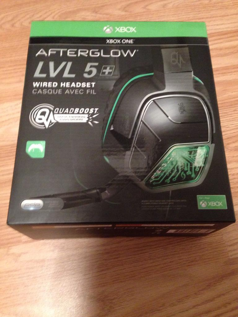 Brand New Xbox One Afterglow Lvl 5 Wired Headset In Gateshead