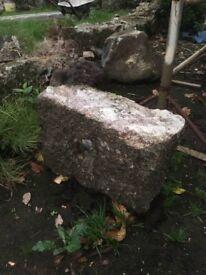 Granite quoin stones old big used, pick up preferred