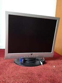 20 inch flat screen computer screen with built in speakers