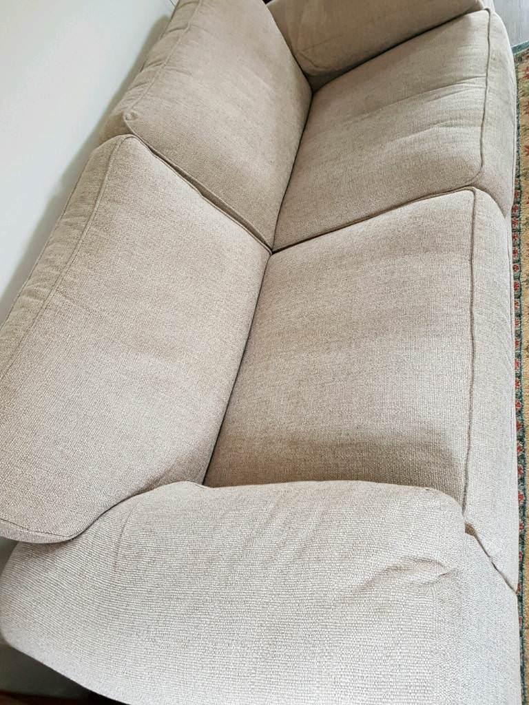 Three Seater Cloth Sofa In Kelso Scottish Borders Gumtree