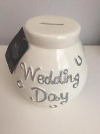 Wedding Day Money Pot - Brand New