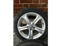 17 inch Genuine AUDI Ronal alloy wheels S line 5x112 a3 a4 a5 a6 tt vw golf passat t4 caddy etc