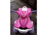Pink 6v quad