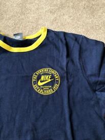 Nike men's Vintage Athletic T shirt L/XL