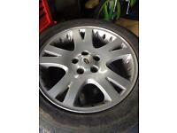 Range Rover VW t5 alloy wheels