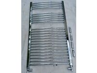 towel radiator 600x1100 chrome
