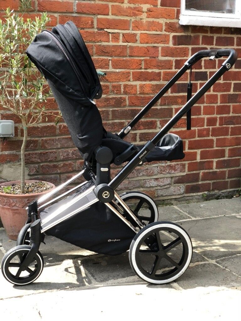 Cybex Priam Travel System Black With Lux Seat Carry Cot Cybex Muff Cup Holder And Orig Boxes In Winchester Hampshire Gumtree