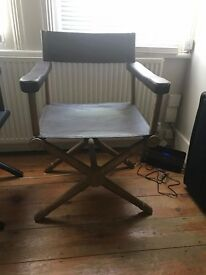 Chelsea Ex-showroom brown leather designer directors chair