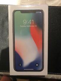 Apple iphone X 256gb brand new