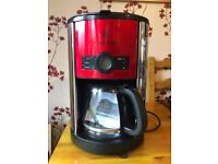 Russel Hobbs coffee machine with timer