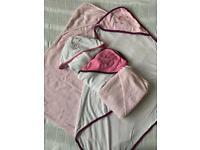 Bundle of Hooded Baby Towels