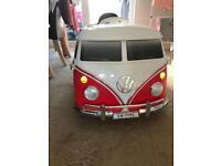 Child's Volkswagen ride on battery Camper Van