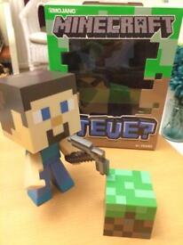 Boxed Minecraft Steve Figure