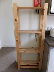Wood Ikea ALBERT Shelving Unit
