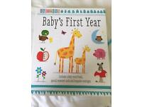Baby's First Year - Baby Record Book Set