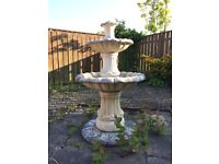Concrete Garden Fountain / Bird Bath