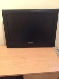 "Acoustic Solutions 19"" LCD TV - Built in Freeview"