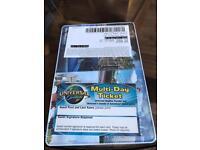 2 x universal Florida tickets