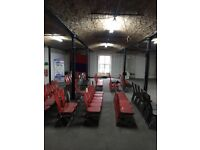 Studio Warehouse Art Design Industrial Commercial Space to Rent City Centre