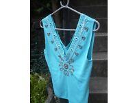 Ladies Vintage beaded top for sale