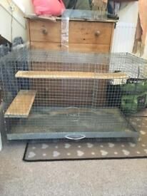 Chinchilla Rat Degu Cage Wire With Pull Out Tray