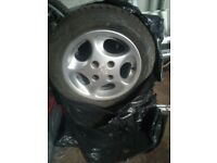 Peugeot 206 Alloy Wheel