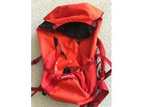 Quechua decathlon. Unused backpack. 20l. Orange.
