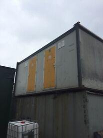 20ft x 10ft porta cabin toilet block