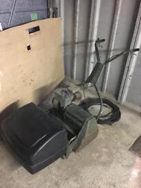 Webb 18 cylinder mower