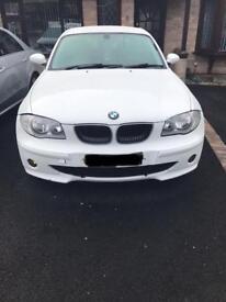 BMW 118d Sport, White, FSH, Remapped