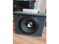JL AUDIO JX250/1 AMP, JL AUDIO SUB